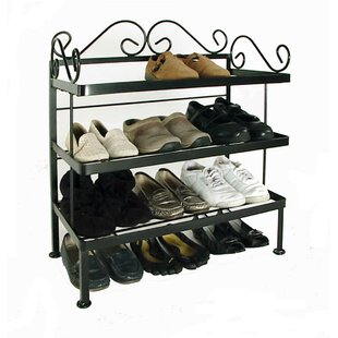 Price comparison 12 Pair Shoe Rack By Fleur De Lis Living