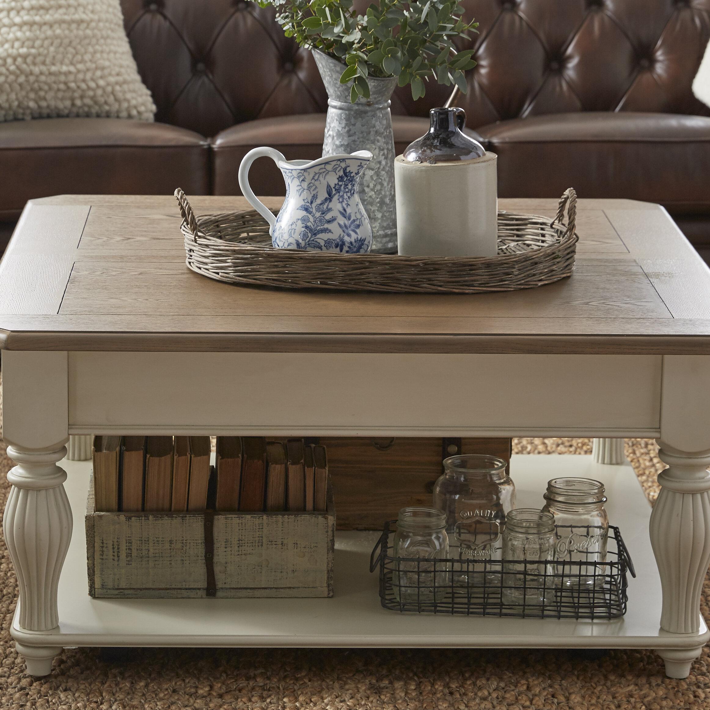 Lark Manor Quevillon Lift Top Coffee Table Reviews Wayfair