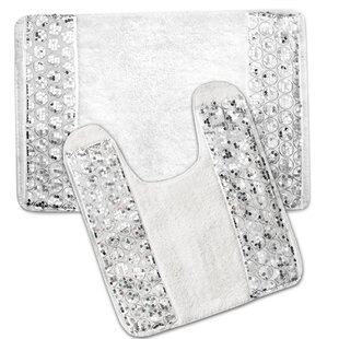 Kristi Luxury 2 Piece Bath Rug Set