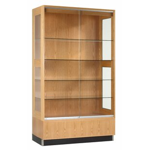 Save  sc 1 st  Wayfair & Short Glass Display Cabinet | Wayfair