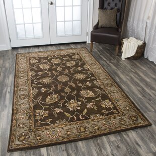 Riley Hand Tufted Wool Mocha Area Rug