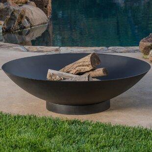 Muskoka Firebowls Tureen Steel Charcoal/Wood Burning Fire Pit