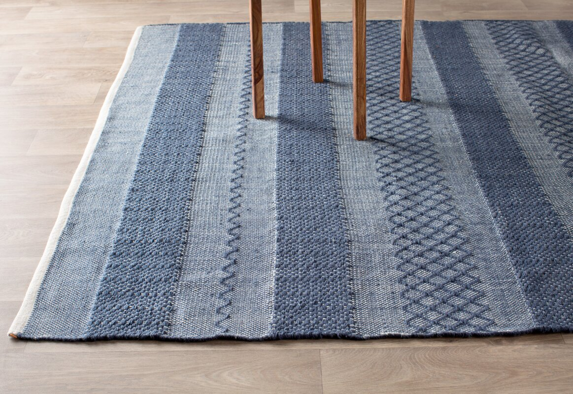 Fab Habitat Estate Hand-Woven Blue Indoor/Outdoor Area Rug ...