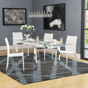 Evelina Extendable Dining Table Latitude Run