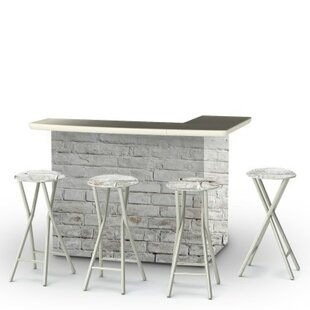 Best of Times Cinderblock 7 Piece Bar Set