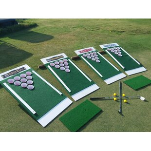 2' x 4' The Original Backyard Single Golf Solid Wood Cornhole Board by Beer Pong Golf