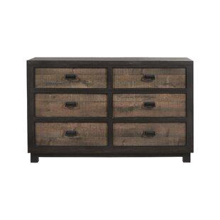 Llewellyn 6 Drawer Double Dresser by Gracie Oaks
