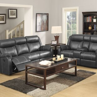 Rockville Reclining Configurable Living Room Set Red Barrel Studio