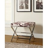 Quandt Metal Accent Stool by Union Rustic