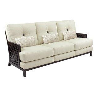 Leona Spanish Bay Patio Sofa with Cushions