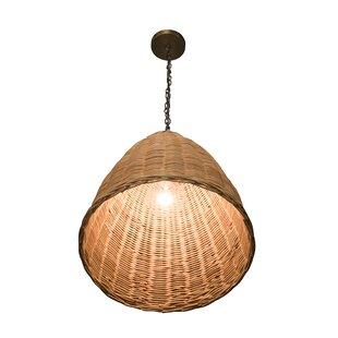 Mistana Elodie 1-Light Dome Pe..