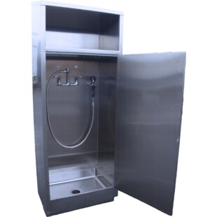 30 x 24 Single Mop Cabinet with Deep Sink by IMC Teddy