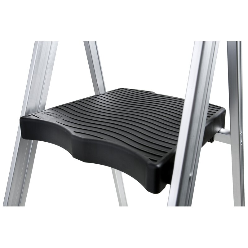 Awesome 3 Step Aluminum Ultra Light Step Stool With 225 Lb Load Capacity Camellatalisay Diy Chair Ideas Camellatalisaycom
