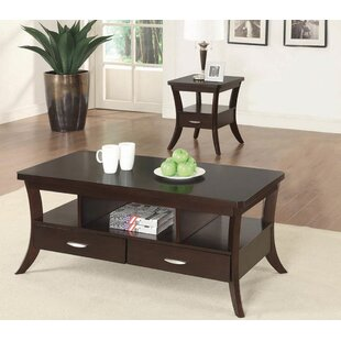 Olander 2 Piece Coffee Table Set
