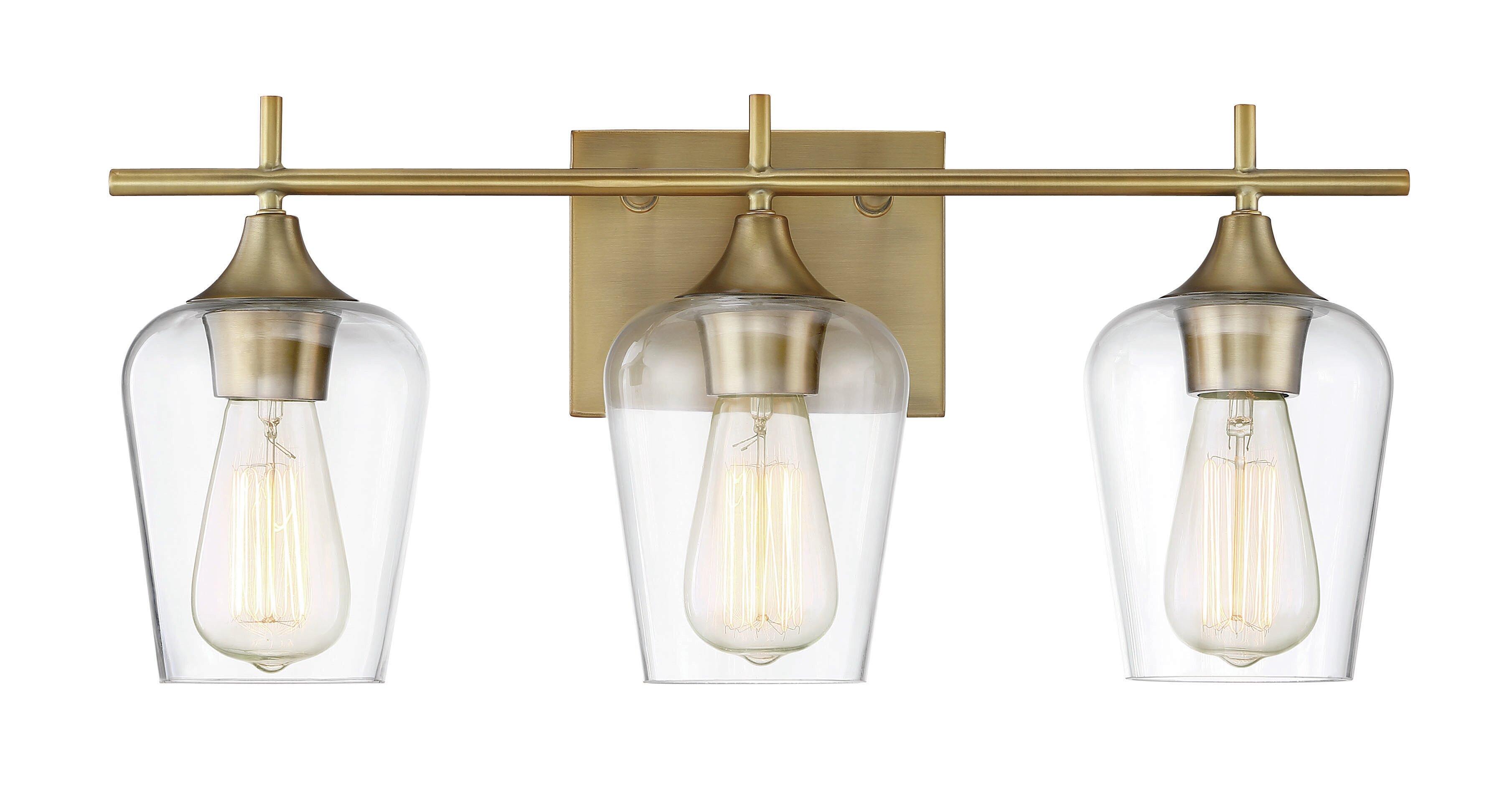 Zipcode Design Staci Light Vanity Light Reviews Wayfair - Bathroom vanity lights facing up or down