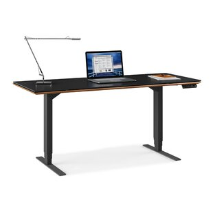 Sequel Adjustable Glass Standing Desk
