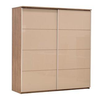 Columbine 2 Door Sliding Corner Wardrobe By Ebern Designs
