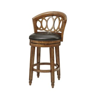 Carlsbad Bar & Counter Stool Swivel Stool by World Menagerie