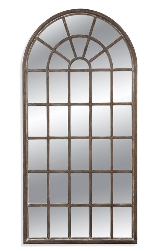 Arched Panel Mirror - Come see 15 Lovely European Country Inspired Decorating Ideas for Home!