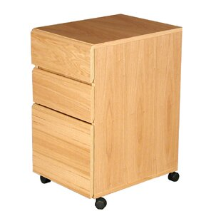 Heirloom 3-Drawer Mobile File Cabinet