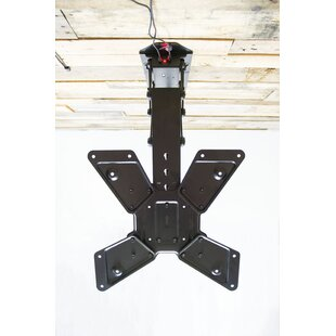 Electric Motorized Flip Down Pitched Roof Tilt Ceiling Mount for 23