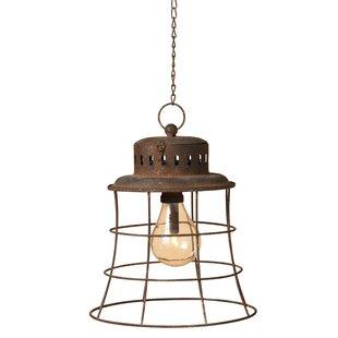 Gerson International 1-Light LED Lantern Pendant