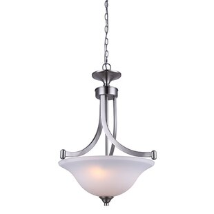 Charlton Home Margaret 3-Light Bowl Pendant