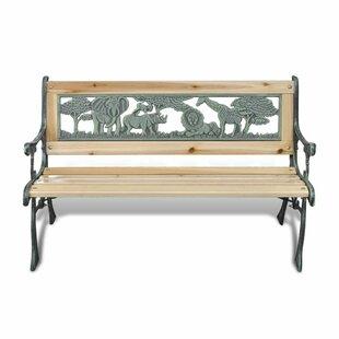 Binion Iron Bench Image