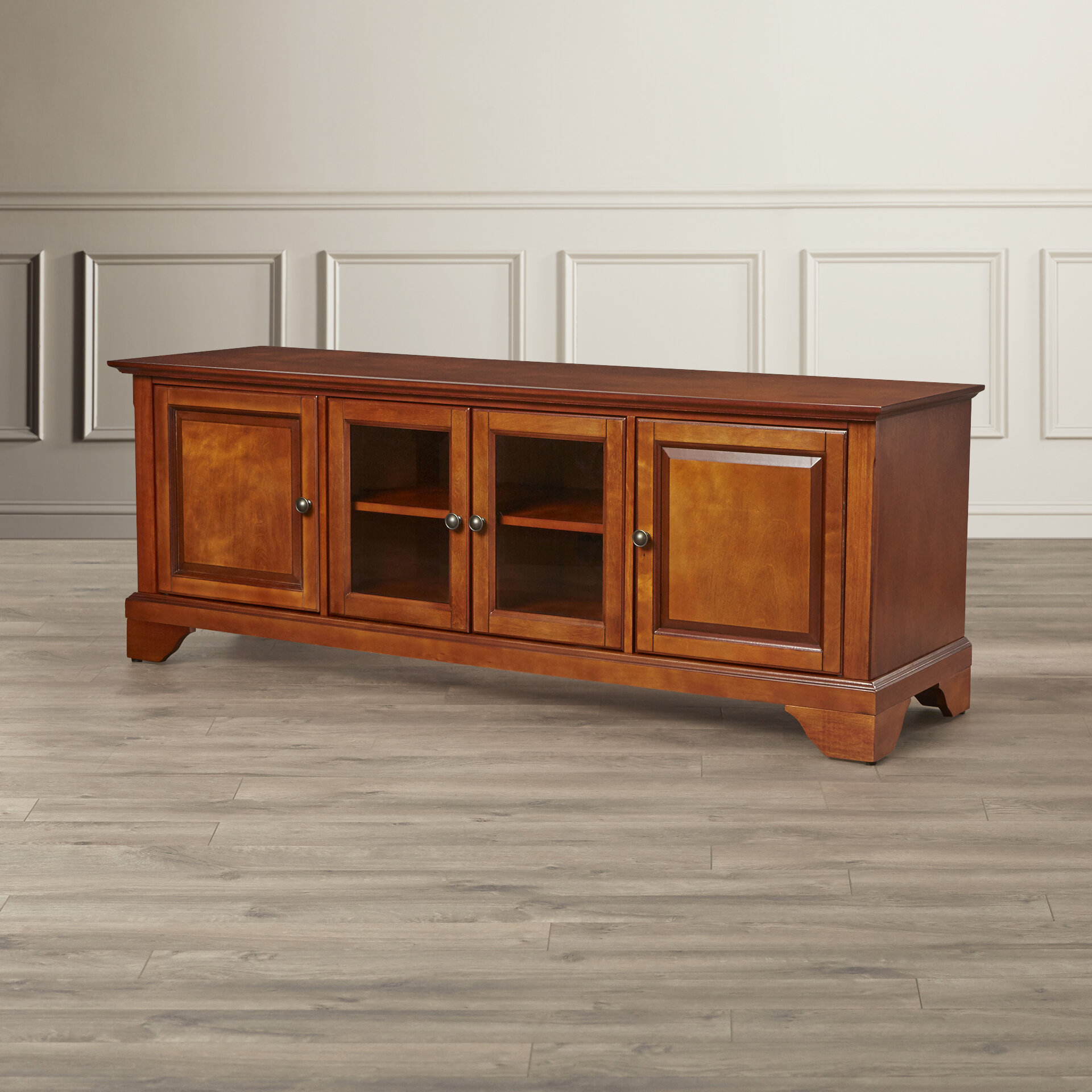 Darby Home Co Abbate Low Profile Tv Stand For Tvs Up To 60