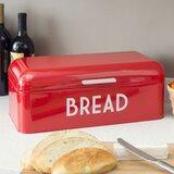 Prep & Savour Metal Bread Box With Lid