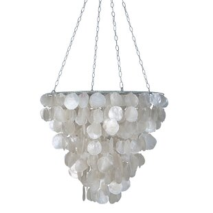 Inexpensive Tapered 2-Light Novelty Chandelier By Kouboo