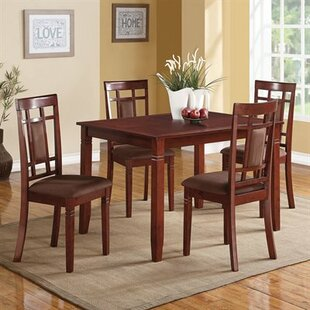 LEE 5-Piece Dining Set by A&J Homes Studio Modern