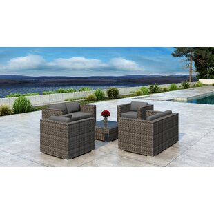 Gilleland 5 Piece Sofa Set with Sunbrella Cushion