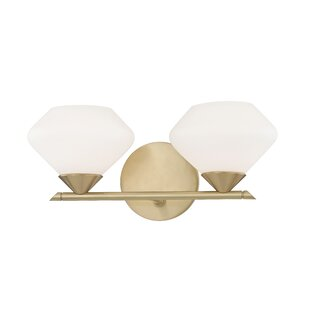 Best Review Humes 2-Light Vanity Light By Wrought Studio