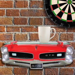 Como GM 1966 Pontiac GTO Front End Wall Shelf by Zoomie Kids