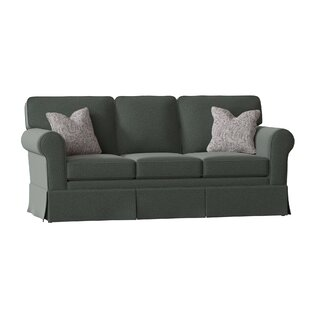 Kaylin Rolled Arm Skirted Sofa By Alcott Hill