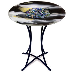 Jasmine Art Glass Coffee Table