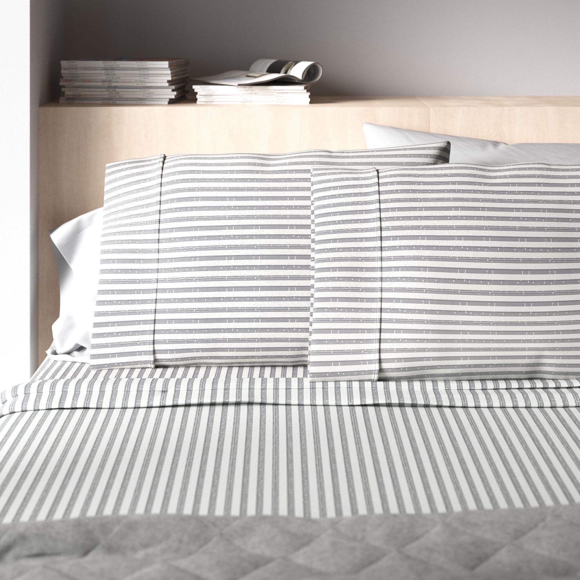 Modern 100 Cotton Sheets Pillowcases Allmodern