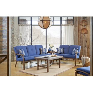 Trisha Yearwood Home Collection 4 Piece Sunbrella Sofa Set with Cushions