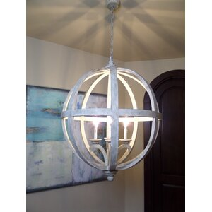 Hercules 4-Light Globe Pendant