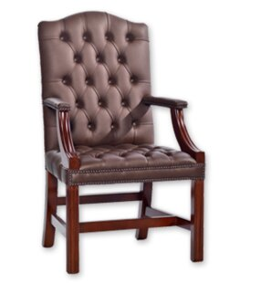 Hogsett Leather Executive Chair By Rosalind Wheeler