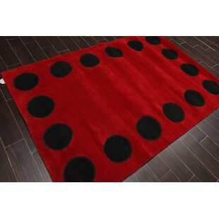 Polka Dots Red Area Rugs You Ll Love In 2021 Wayfair