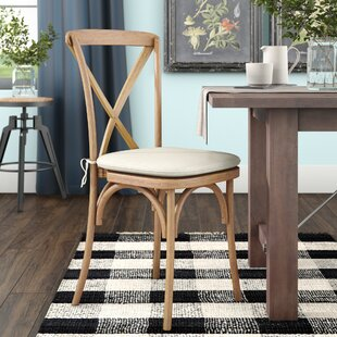 Hibbler Solid Wood Dining Chair August Grove