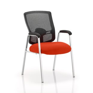 Mid-Back Office Chair With Arms By Symple Stuff