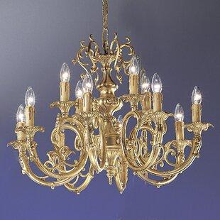 Classic Lighting Princeton 12-Light Chandelier