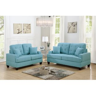 Compare Woolridge 2 Piece Living Room Set by Latitude Run Reviews (2019) & Buyer's Guide