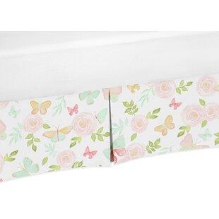 Price Check Butterfly Floral Crib Skirt BySweet Jojo Designs