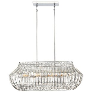 House of Hampton Needham Market 8-Light Kitchen Island Pendant