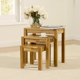 Rory 3 Piece Nest Of Tables By August Grove