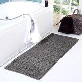 Monica Braided Chenille Cotton Bath Rug